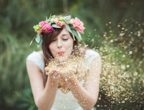 Festival Wedding Ideas Blog | Wedding Glitter Station & Face Painting